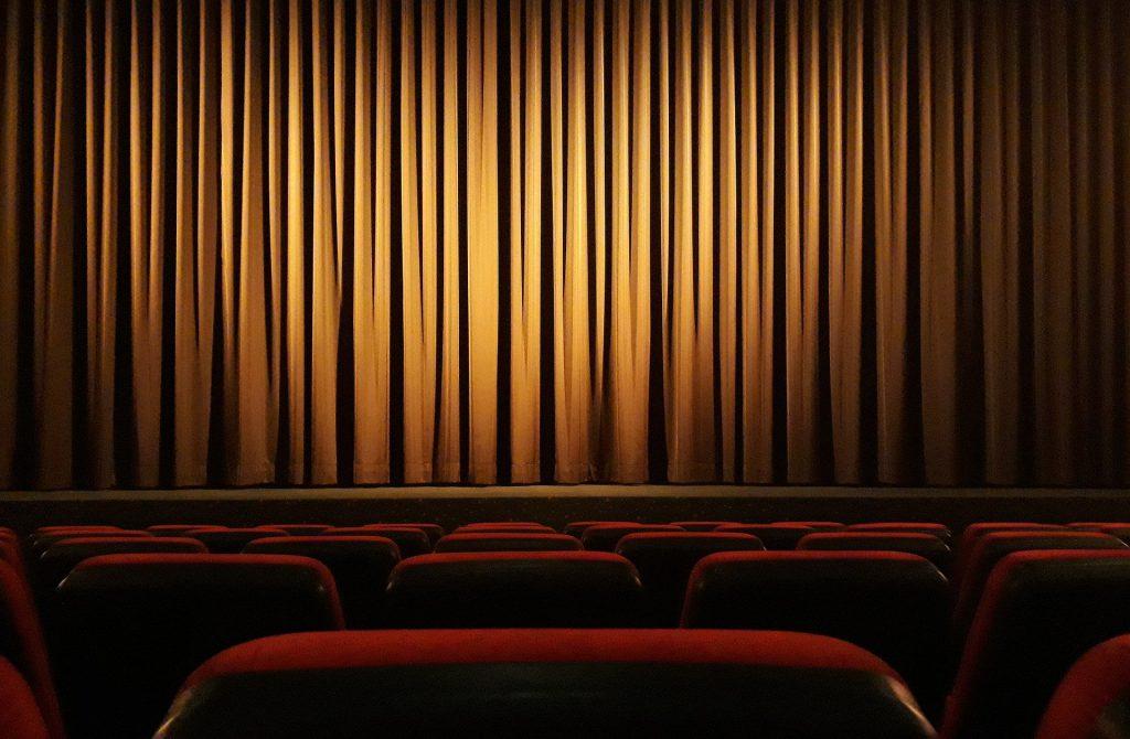 Eine Theaterbühne